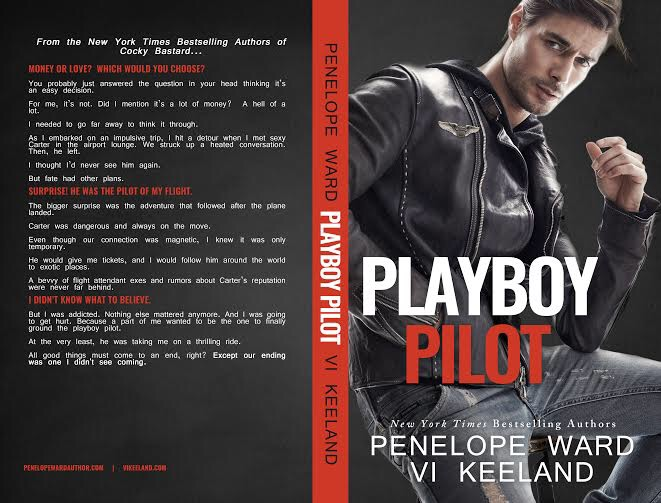 Cover Reveal Playboy Pilot By Vi Keeland And Penelope Ward Love